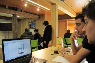 Accompagner - Concours Bois Design Châtaignier